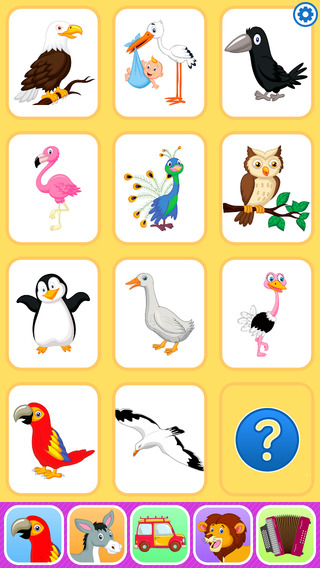Birds and Animals for Kids