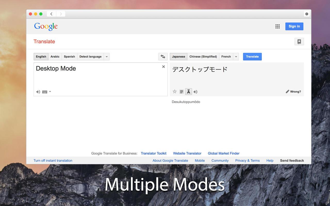 how to view history on google translate imac