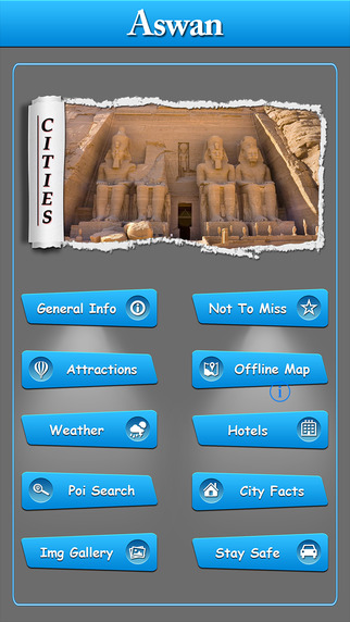 Aswan Offline Map Travel Guide