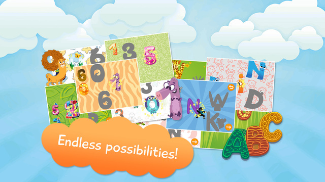 Kids Toddler Letters and Numbers Learning