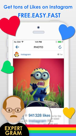 ExpertGram - Get Likes for Instagram