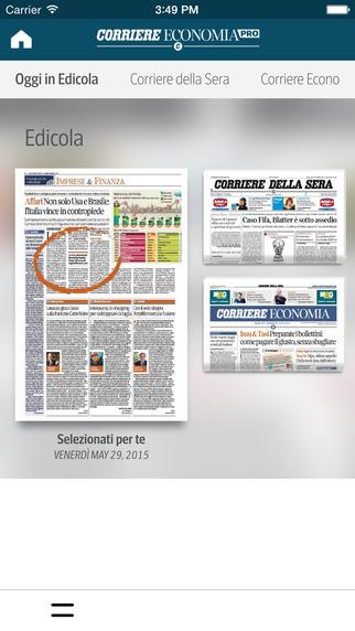 Corriere Economia Pro