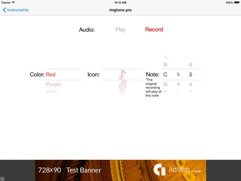 Ringtone Composer Pro Скриншоты7