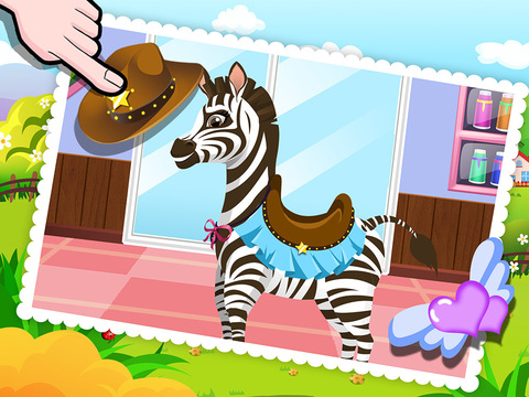 【遊戲】Baby Zebra SPA Salon - Makeover Game For Kids-癮科技App