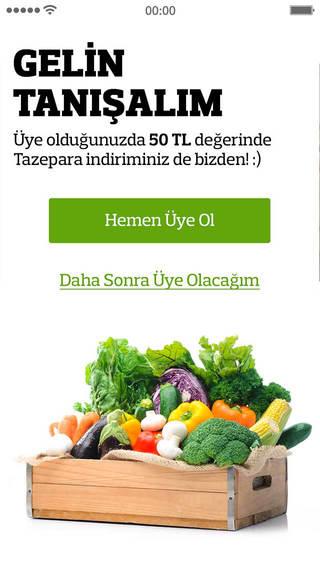 Tazedirekt: Online Sanal Market Organik Gıda