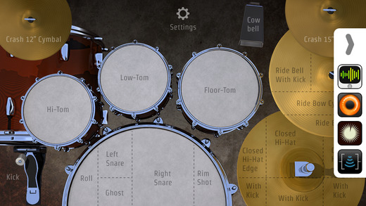 DrumKick - 架子鼓[iOS]丨反斗限免