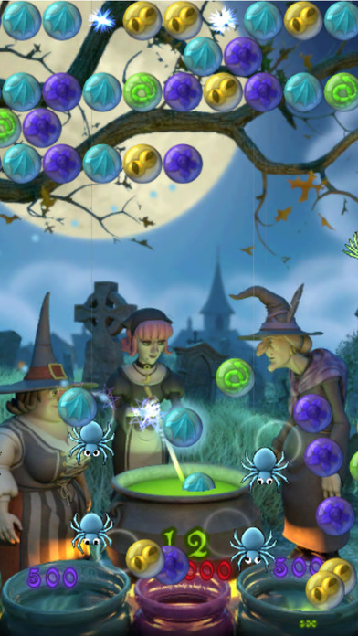 Bubble Witch Saga screenshot 1