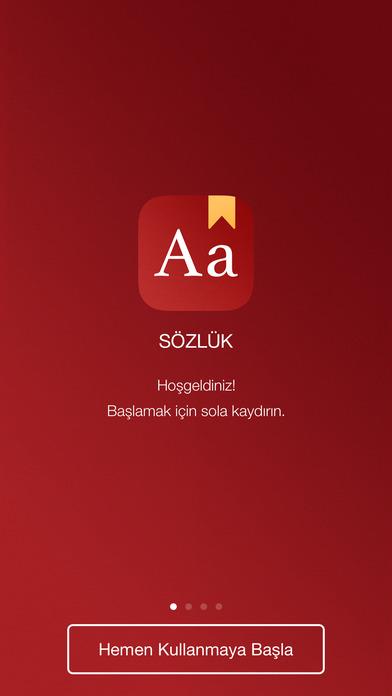 Sozluk iPhone Screenshot 5