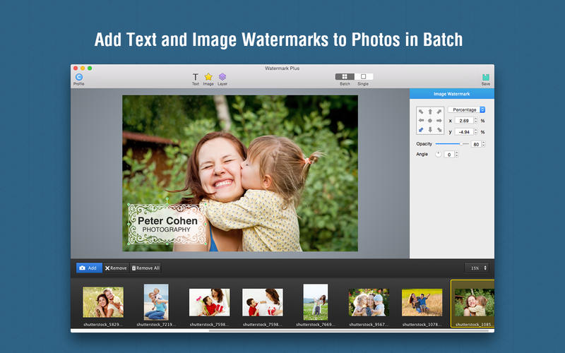 Watermark Plus Screenshots