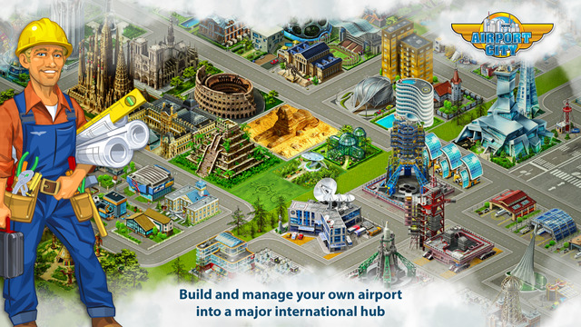 Airport City - Start your airplanes empire Manage your aircraft and fly