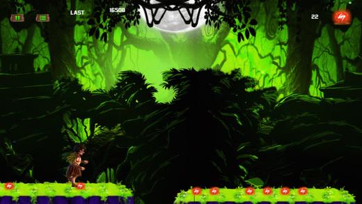 Jungle Kid Adventure Run - Dark Fantasy