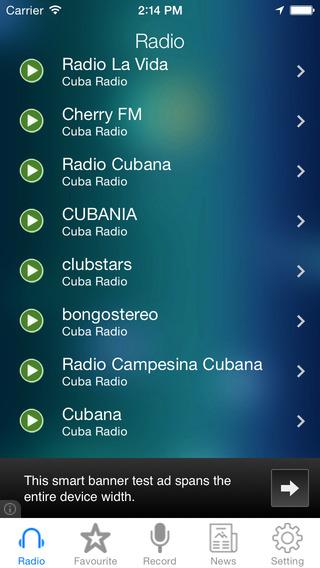 Cuba Radio News Music Recorder