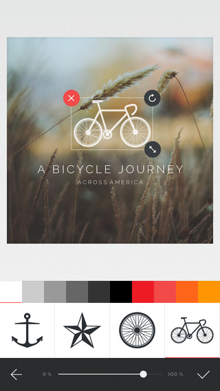 《摩卡处理:MocaDeco - Visual Creator [iPhone]》