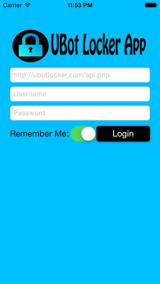 UBot Locker App