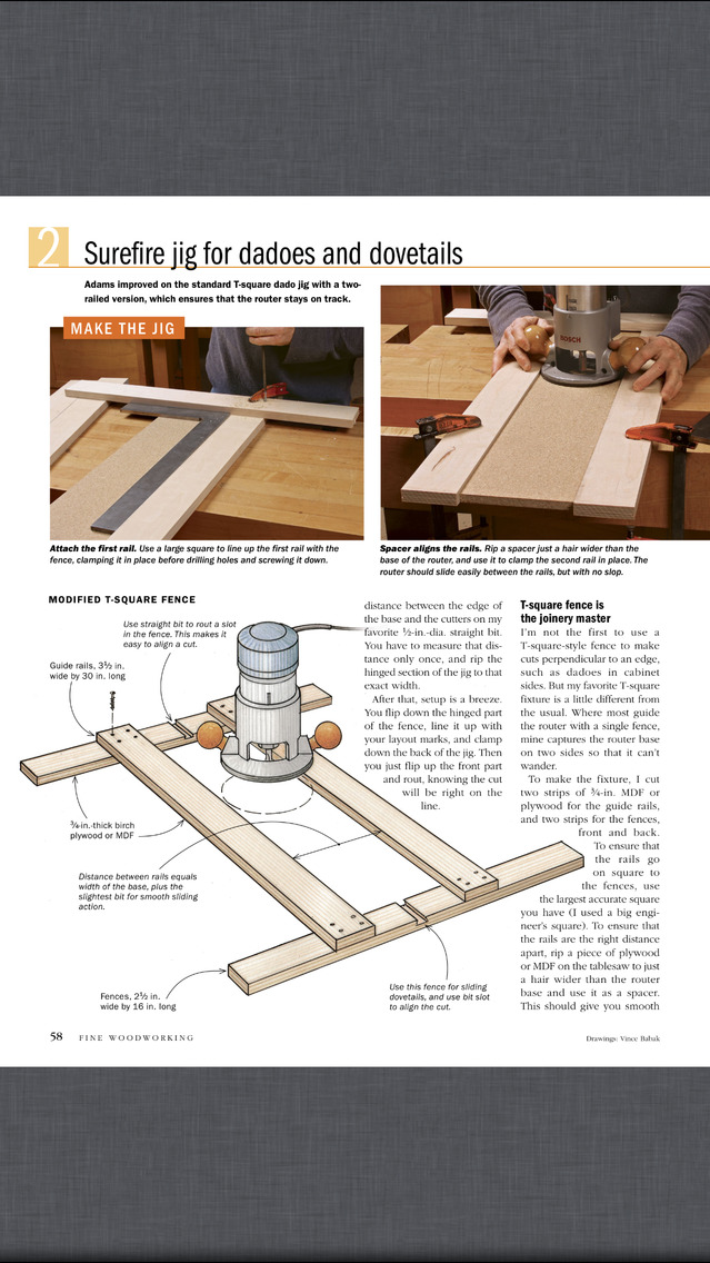 Fine woodworking magazine apppicker for Fine woodworking magazine discount