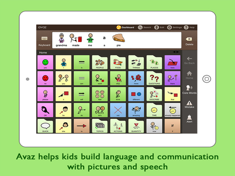Avaz Together Picture Communication App for Children with Autism with AAC Training for Caregivers