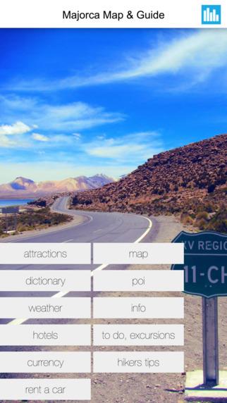 Majorca Spain Offline GPS Map Travel Guide Free