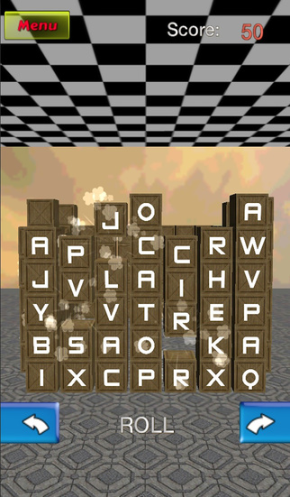 Word Cube match 3D game free