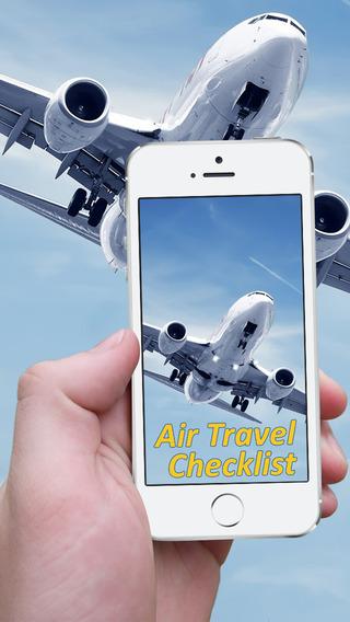 Air Travel Checklist