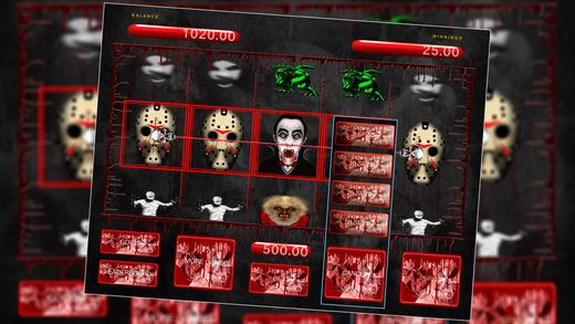 slot machine gratis horror
