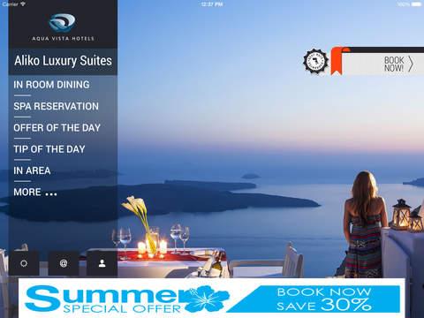 Aliko Luxury Suites Experience