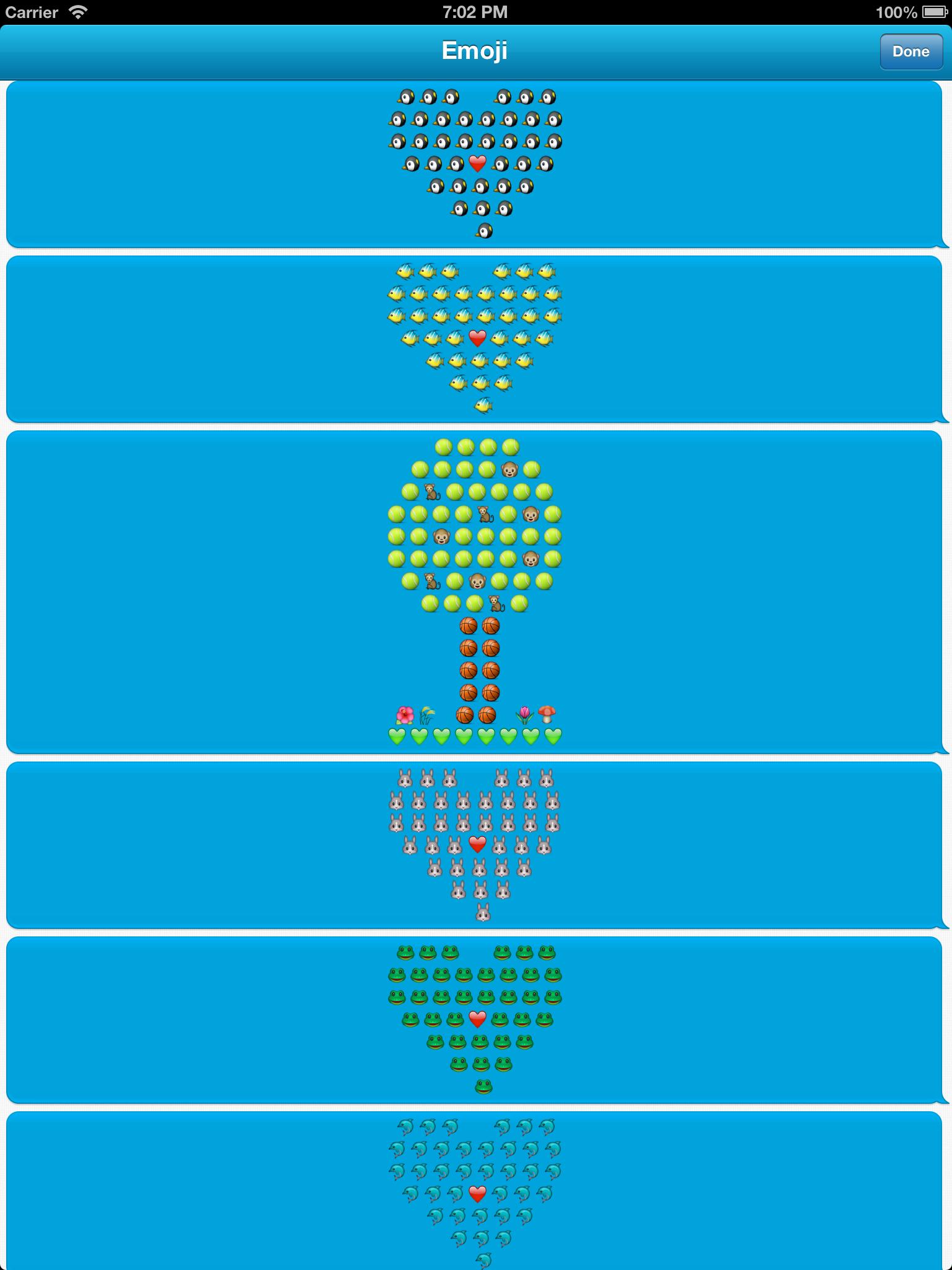 Emoji Art iPad