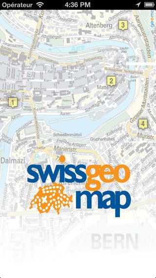 Swissgeo Map