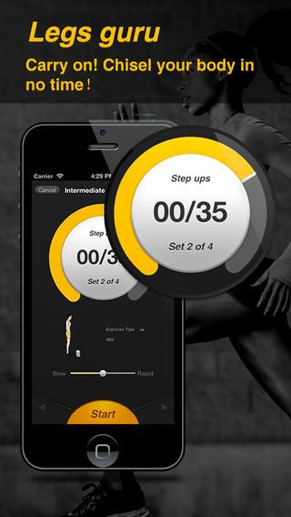 Legs Guru - The Best Training Coach to Get Hot HOT Legs