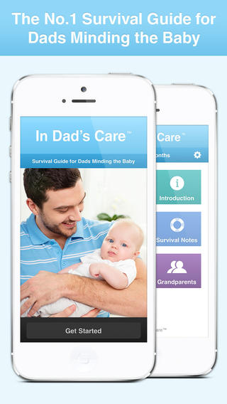 Baby Care Guide by In Dad's Care: Parenting Tips Essential Info for New Dads Mothers and Grandparent