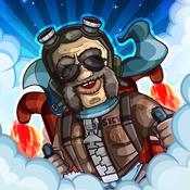 横版飞行 – 火箭兄弟 Jet Dudes [iOS]