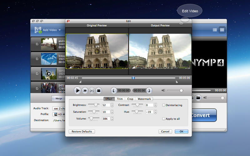 AnyMP4 M2TS Converter Screenshot - 3