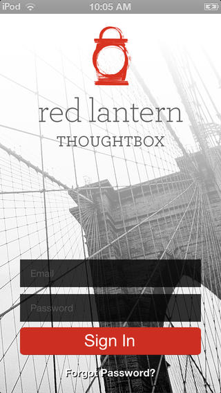 Red Lantern Strategy Thoughtbox