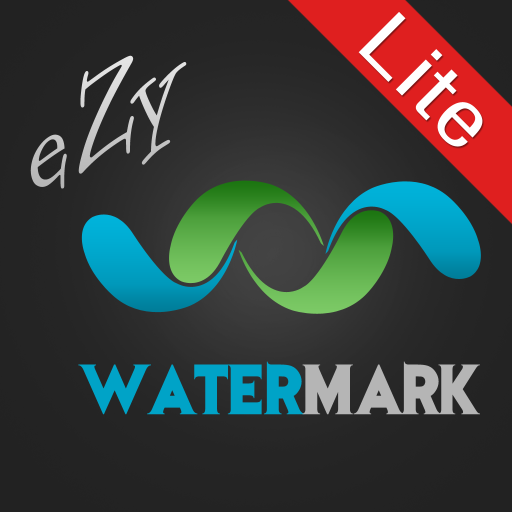 App for watermarking photos
