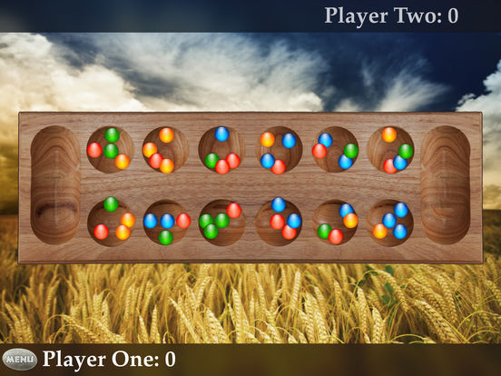 Mancala HD iPad Screenshot 1