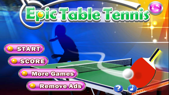 Epic Table Tennis Free - Virtual Ping Pong