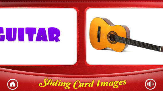 Flash Cards - Musical Instruments
