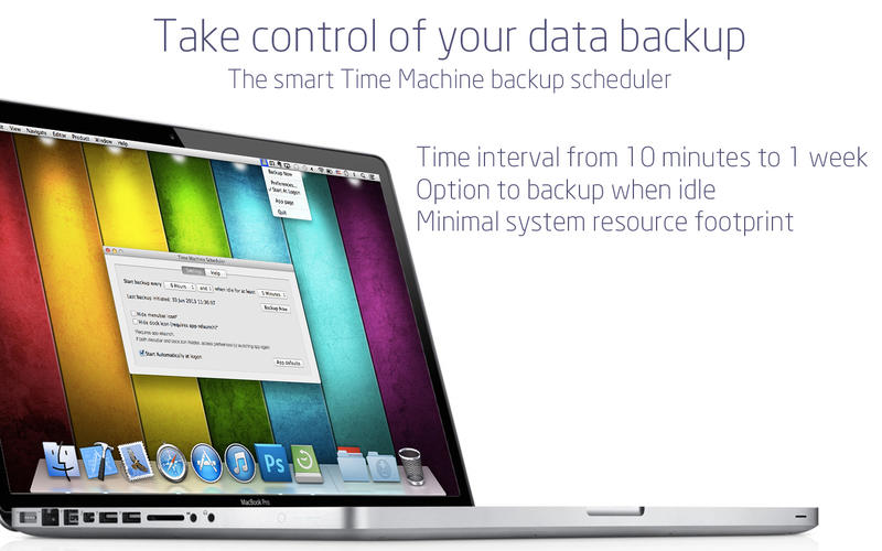 does time machine backup operating system