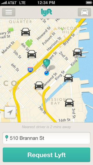Lyft - Taxi App Alternative