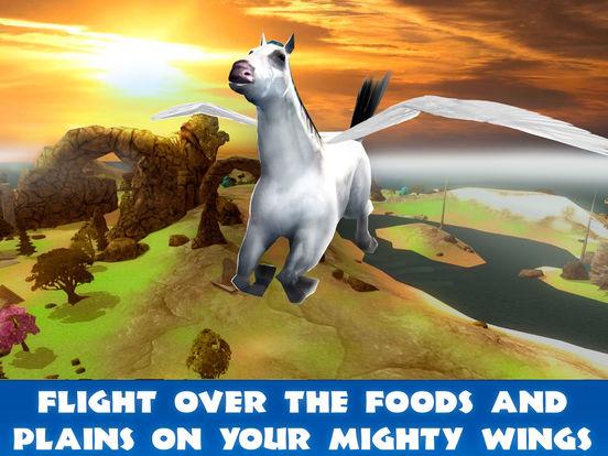 Pegasus Survival Simulator 3D Full screenshot 6