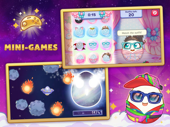 Screenshots of Egg! for iPad