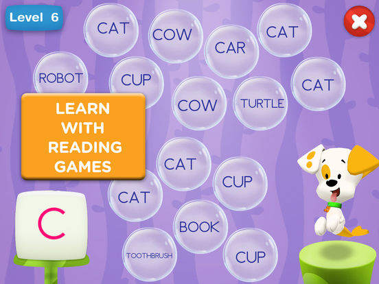 Bubble Puppy: Play and Learn for iPad - Bubble Guppies ...