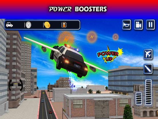 Flying Future Police Cars Pro screenshot 10