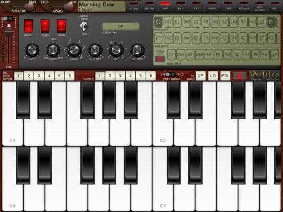 Screenshot #5 for Galileo Organ