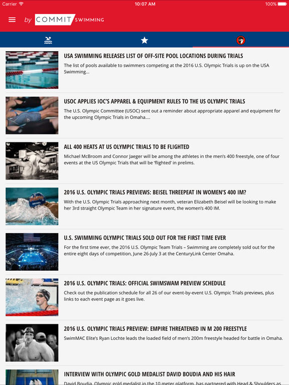 2016 US Swimming Trials screenshot 5