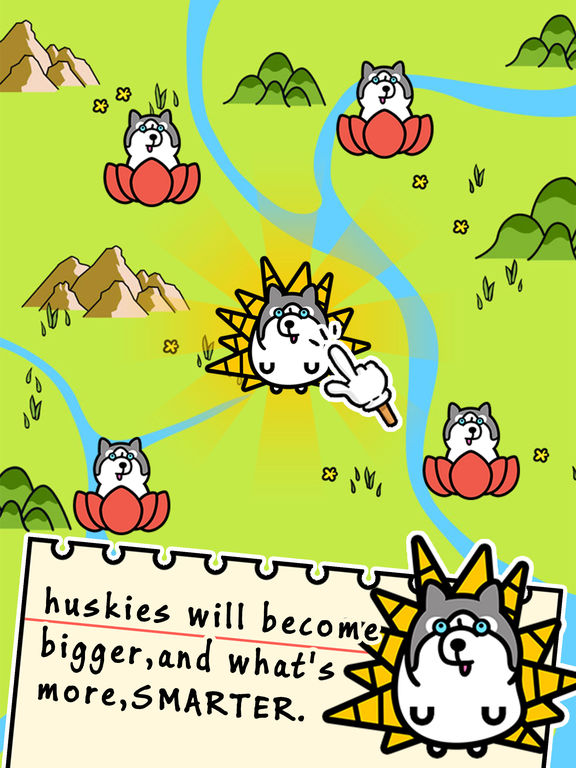 Husky Evolution - Tap Coins of the Crazy Mutant Simulator Idle Game-ipad-1