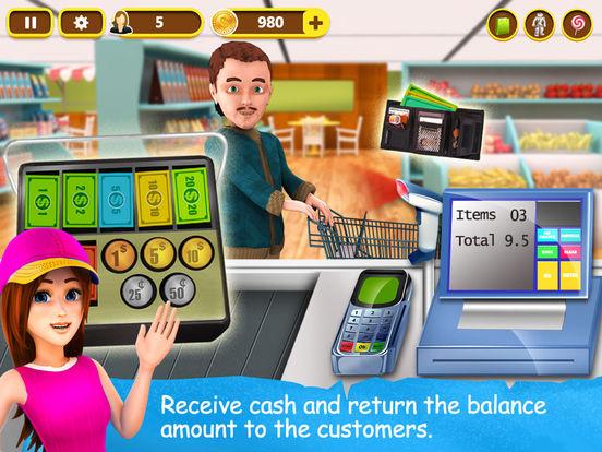 Скачать Supermarket Cash Register - Kids Fun Shopping Game
