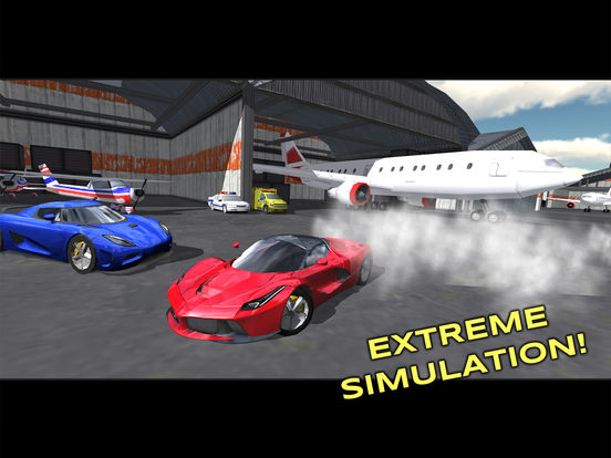 Screenshots of Extreme Car Driving Simulator Free for iPad