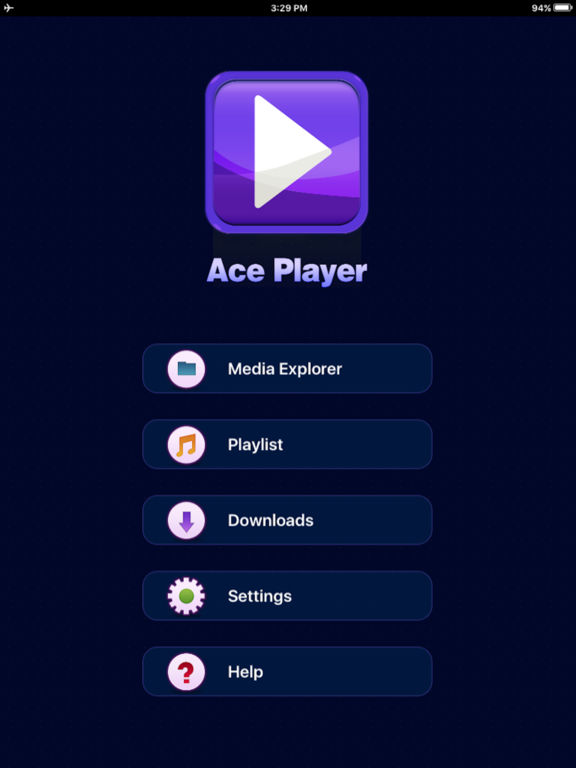 AcePlayer -Free Media Player, No Ads Screenshots