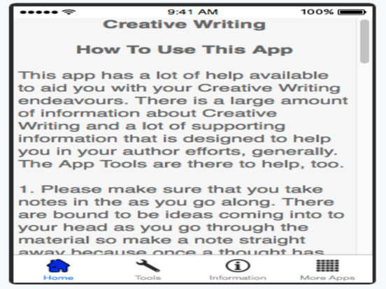 creative writing app Break that writer's block here are 7 great online creative writing apps to inspire creativity for writing and other creative projects for any student.