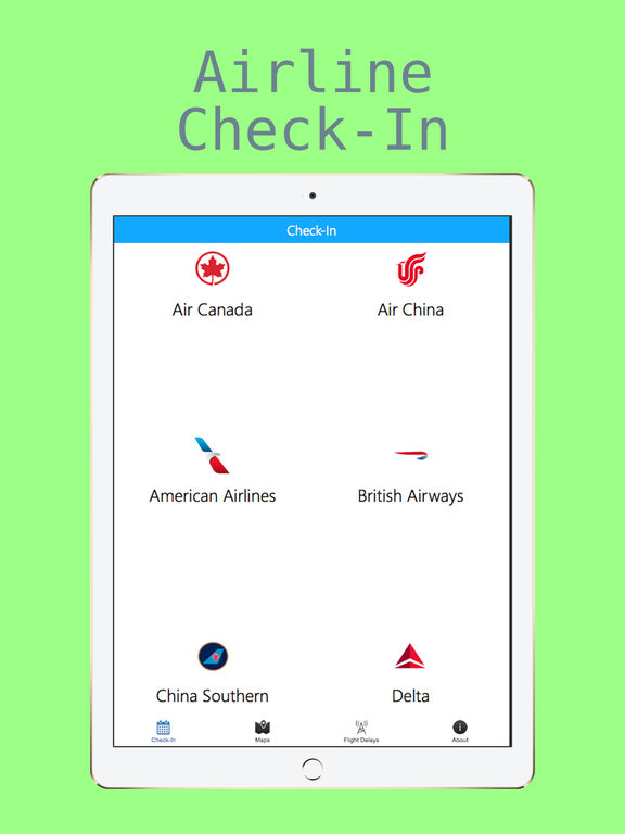 Airport Information - Check-In + Flight Delays + Terminal Maps screenshot